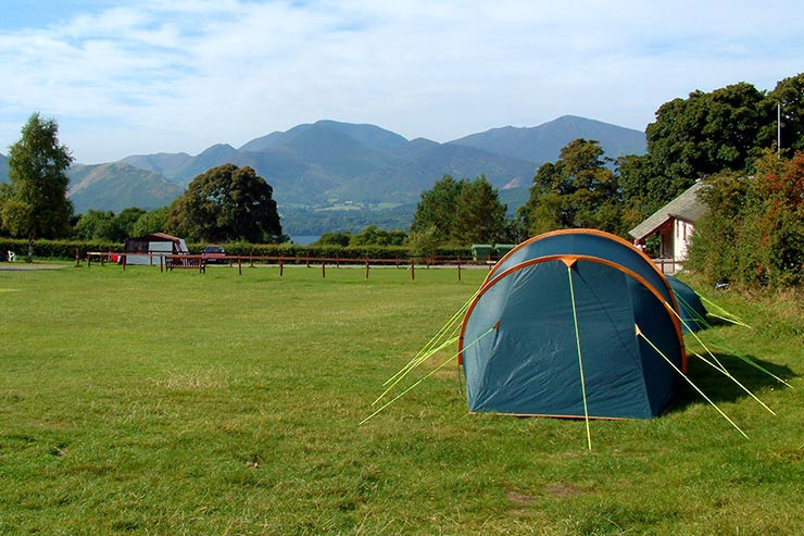 Castlerigg Farm Campsite Views