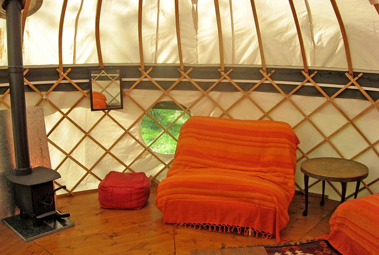 Luxury Yurts