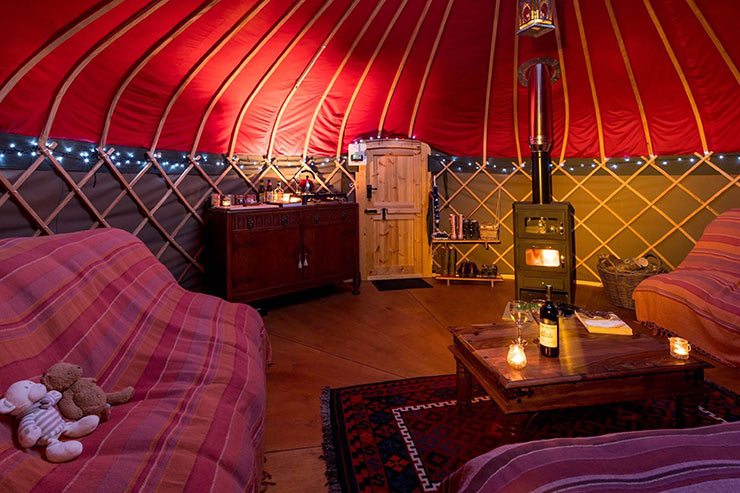 Long Valley Yurts at Sykeside