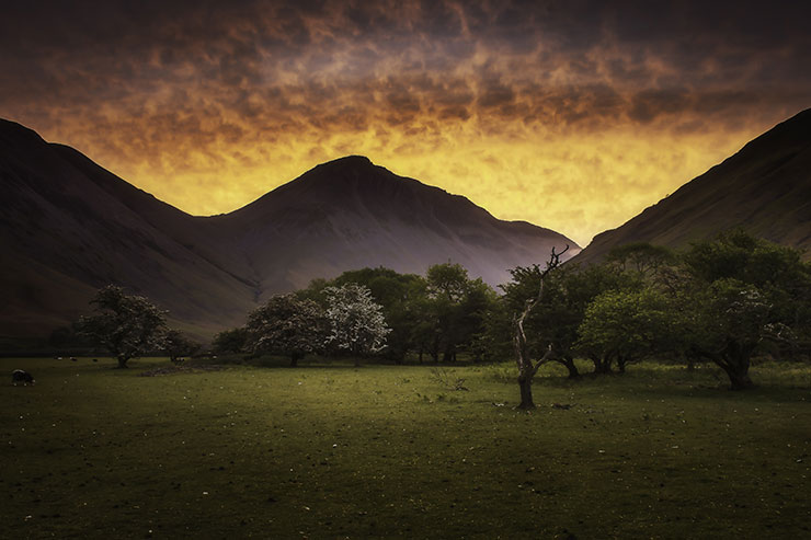 Great Gable at Dusk