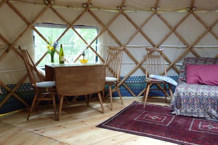 Wild in Style Yurts at Low Wray