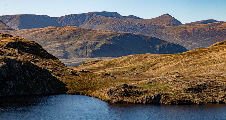 Helvellyn from Angle Tarn